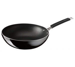 Black Tefal E6041902 Jamie Oliver Hard Enamel 28 cm Non-stick Stir-Fry Pan Review