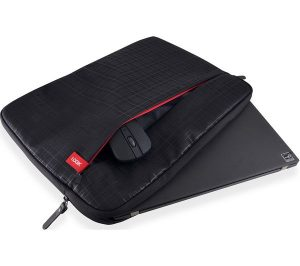 Black and Red Logik L16CQLS16 15.6 inch Laptop Sleeve Review