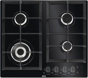 Black AEG HKB64NB540 Gas Hob Review