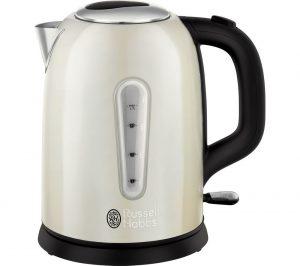 cream russell hobbs cavendish 25502 jug kettle review. Black Bedroom Furniture Sets. Home Design Ideas