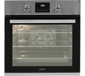 Stainless Steel Zanussi ZOB35471XK Electric Oven Review
