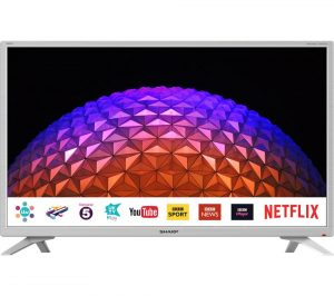 White Sharp LC-32HI5232KFW 32 inch Smart LED TV Review