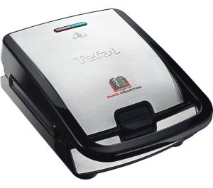 Black and Stainless Steel Tefal Snack Collection SW852D27 Sandwich Toaster Review