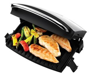 Silver George Foreman 14181 Family Grill and Melt Health Grill Review