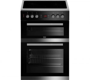 Stainless Steel and Black Beko JDC683X 60 cm Electric Ceramic Cooker Review