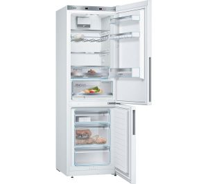 White Bosch Serie 4 KGE36VW4A Fridge Freezer Review