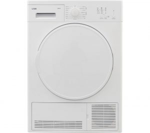 White Logik LCD8W18 Condenser Tumble Dryer Review