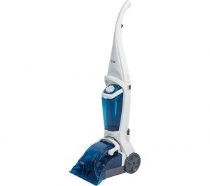 White Russell Hobbs RHCC5001 Upright Carpet Cleaner Review