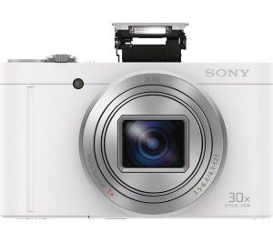 White Sony Cyber-shot Cyber-shot DSC-WX500W Superzoom Compact Camera Review