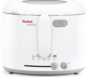 White Tefal MaxiFry FF123140 Deep Fryer Review