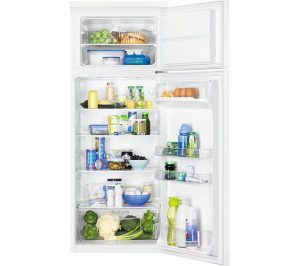 White Zanussi ZRT27102WV Fridge Freezer Review