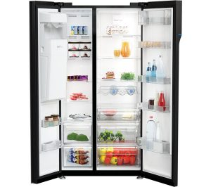 Black Beko ASGP342B American-Style Fridge Freezer Review