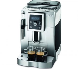 Silver and Black Delonghi ECAM23.420 Bean to Cup Coffee Machine Review