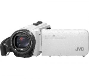 White JVC GZ-R495WEK Camcorder Review