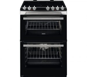 Black and Stainless Steel Zanussi ZCI69060XE 60 cm Electric Induction Cooker Review