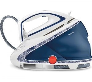 Blue and White Tefal Pro Express Ultimate GV9569 Steam Generator Iron Review