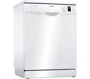 White Bosch Serie 2 ActiveWater SMS25EW00G Full-size Dishwasher Review