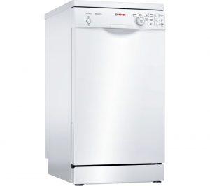 White Bosch Serie 2 SPS24CW00G Slimline Dishwasher Review