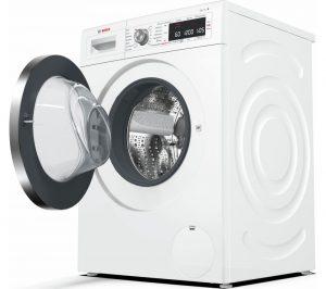 White Bosch Serie 8 WAW325H0GB Smart Washing Machine Review