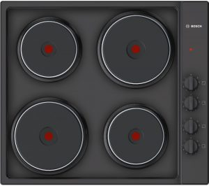 Black Bosch PEE686CA1 Electric Solid Plate Hob Review