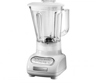 White Kitchenaid Artisan 5KSB5553BWH Blender Review