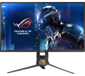 Black Asus ROG Swift PG258Q Full HD 24.5 inch LED Gaming Monitor Review