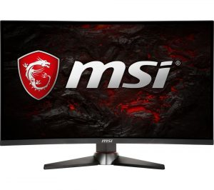 Black and Red MSI Optix MAG27C Full HD 27 inch Curved LED Gaming Monitor Review
