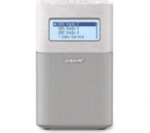 White Sony XDRV1BTDW Portable Radio Review