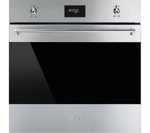 Stainless Steel and Black Smeg SF6371X Electric Single Oven Review