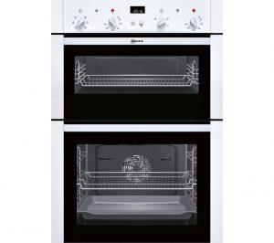 White Neff U14M42W5GB Electric Double Oven Review