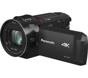 Black Panasonic HC-VX1EB-K 4K Ultra HD Camcorder Review