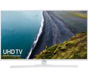 White Samsung UE43RU7410UXXU 43 inch Smart 4K Ultra HD HDR LED TV with Bixby Review