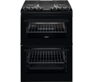 Black Zanussi ZCG63260BE 60 cm Gas Cooker Review