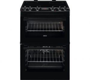 Black Zanussi ZCV66250BA 60 cm Electric Ceramic Cooker Review