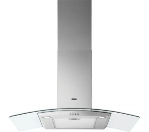 Stainless Steel Zanussi ZHC9235X Chimney Cooker Hood Review
