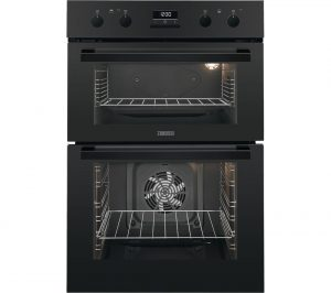 Black Zanussi ZOD35802BK Electric Double Oven Review